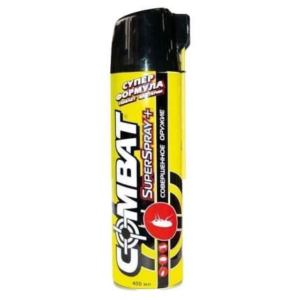 Спрей Combat superspray от ползающих насекомымых с запахом цветов 400 мл