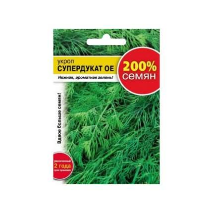 Семена зелени и пряностей Русский огород 113604 Укроп Супердукат 5 г