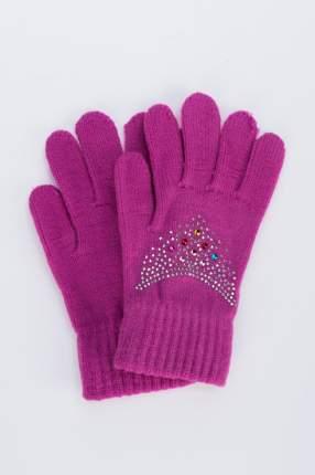 Перчатки для девочек Мария, цв. фиолетовый р.13-14