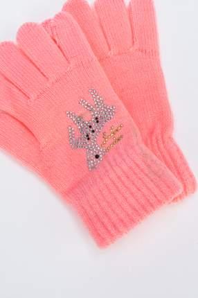 Перчатки для девочек Мария, цв. коралловый р.13-14