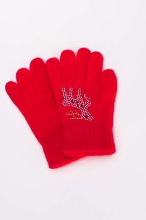 Перчатки для девочек Мария, цв. красный р.13-14