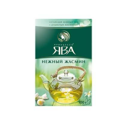 Чай зеленый листовой Принцесса Ява Нежный Жасмин 100 г