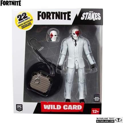 Подвижная фигурка McFarlane Toys Wild Card из игры Fortnite 35090