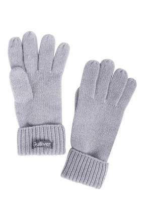 Перчатки для девочек Gulliver, цв. серый р.16