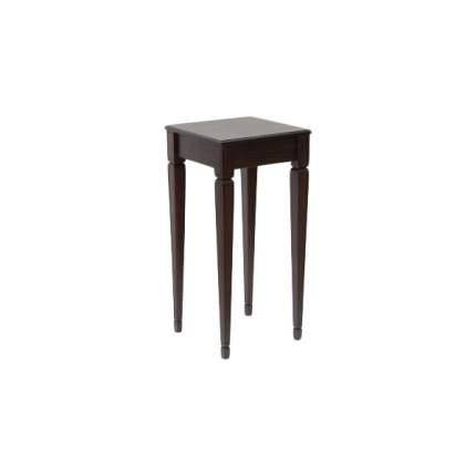 Консоль мебельная МЕБЕЛИК Васко В 47Н Темно-коричневый/патина