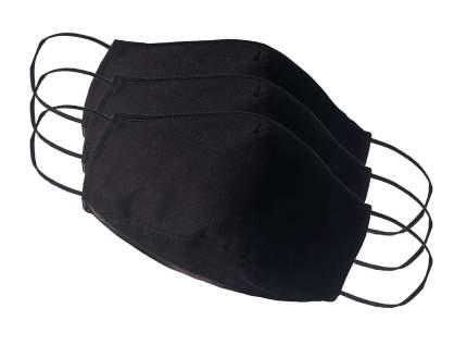 Многоразовая защитная маска Стар-текстиль 2Ч-3 черная 3 шт.