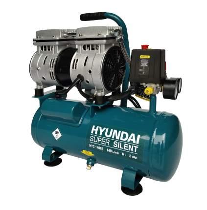 Безмасляный воздушный компрессор Hyundai HYC 1406S (бесшумный)