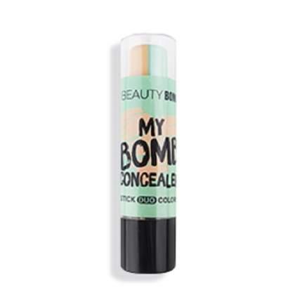 "Консилер Beauty Bomb стик двухцветный ""Bomb concealer"", тон 01"