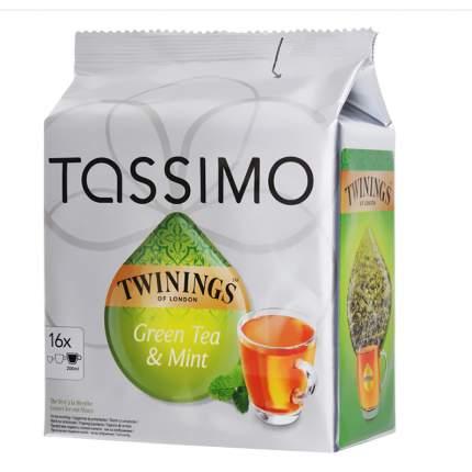 Капсулы для кофемашин Tassimo чай зеленый байховый с мятой