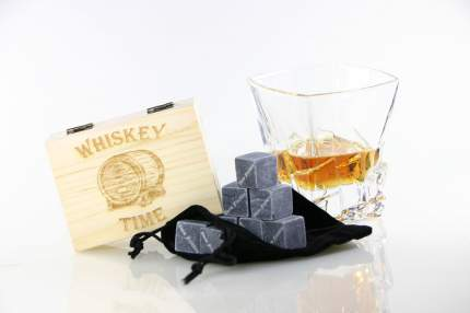 Набор камней для виски в подарочной коробочке Adam Franklin AF-ST-TIME