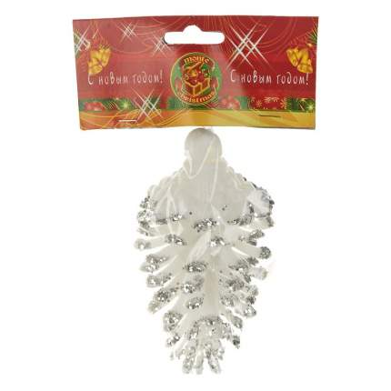 Елочная игрушка Monte Christmas Шишка N9830059 12 см 1 шт.