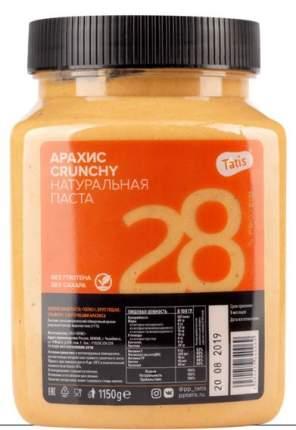 Арахисовая паста хрустящая Татис Crunch 1150 г