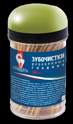 Lomberta Зубочистки деревянные 200шт