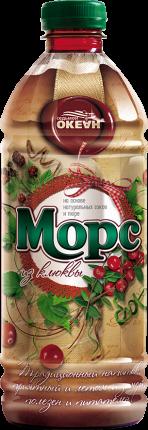 Морс Акаппелла из клюквы для детского питания 1 л