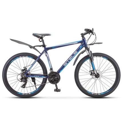 """Велосипед Stels Navigator 620 MD V010 2020 17"""" темно-синий"""