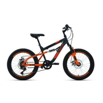 "Велосипед Altair MTB 2020 14"" серый/оранжевый"