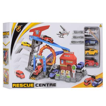 Машина-трек Junfa toys Спасательный центр P869-A