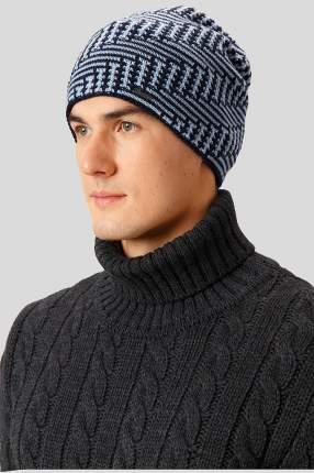 Шапка мужская Finn Flare W18-42111 темно-синяя