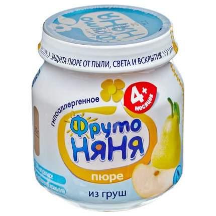 Пюре фруктовое ФрутоНяня из груш с 4 мес. 100 г