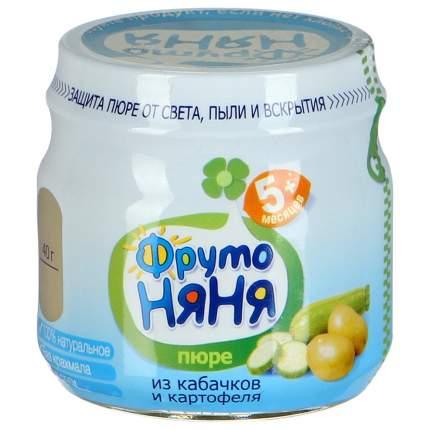 Пюре овощное ФрутоНяня Из кабачков и картофеля с 5 месяцев 80 г