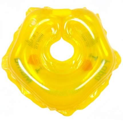 Круг на шею для купания, полноцветный, цвет жёлтый Baby Swimmer