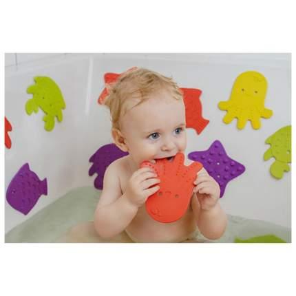 ROXY-KIDS Антискользящие мини-коврики для ванны. Цвета 8 шт