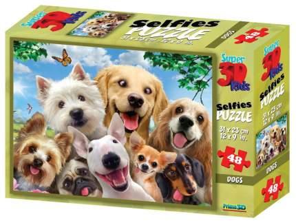 Стерео пазл PRIME 3D 10539 Собаки селфи 2