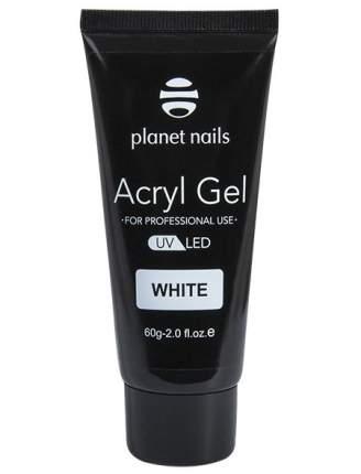 Гель Acryl Gel белый, 60гр Planet Nails 139-11503