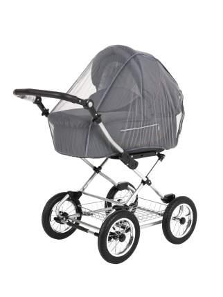 Москитная сетка Bambola универсальная на весь купол коляски, цв. серый 039B