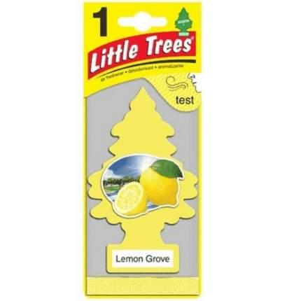 Ароматизатор подвесной LITTLE TREES Лимонный сад, елочка U1P10594RUSS