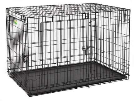 Клетка для собак Midwest Contour 76x122x84см, 2 двери