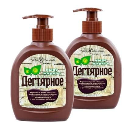 Жидкое мыло Дегтярное 300мл (Набор из 2 штук)