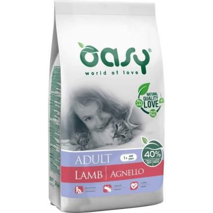 Сухой корм для кошек Oasy Dry Cat, ягненок, 1.5кг