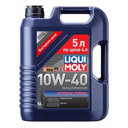 Моторное масло Liqui moly Optimal 10w-40 5л