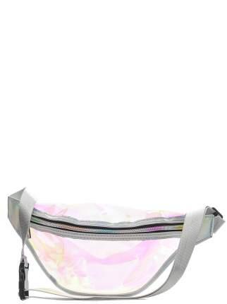 Поясная сумка женская Modis M201A00905S502ONE серебристая