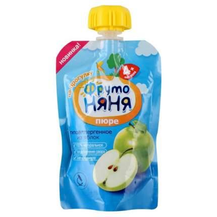 Пюре фруктовое ФрутоНяня из яблок с 4 мес. 90 г