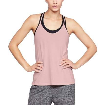 Майка Under Armour Fashion, 602 розовая, SM