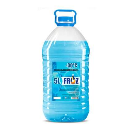 Жидкость для стеклоомывателя зимняя 5л FrozOK VOLVO OBZOR3