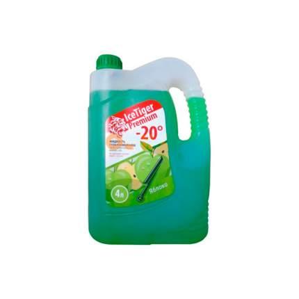 Жидкость для стеклоомывателя зимняя Ice Tiger Premium -20 (зеленая- яблоко) 2041004