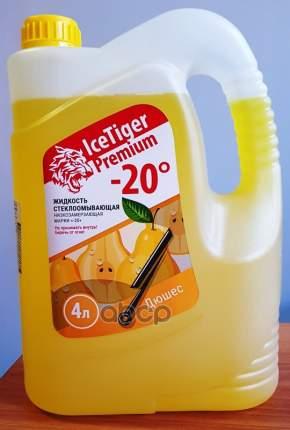 Жидкость для стеклоомывателя зимняя Ice Tiger Premium -20 (желтая-дюшес) 2044004