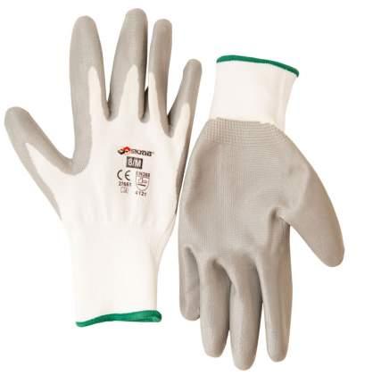 Перчатки полиэстер с нитрил. гладким покрытием 8/M SKRAB 27661
