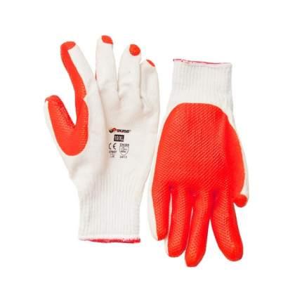 Перчатки хлопок с латексным покрытием 10/XL 27657