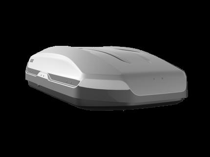 Бокс на крышу автомобиля LUX TAVR 175 LUX-791071 450л серый металлик 175х85х40