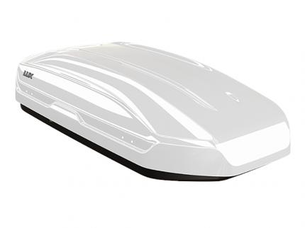 Бокс на крышу автомобиля LUX TAVR 175 LUX-791088 450л белый глянцевый 175х85х40