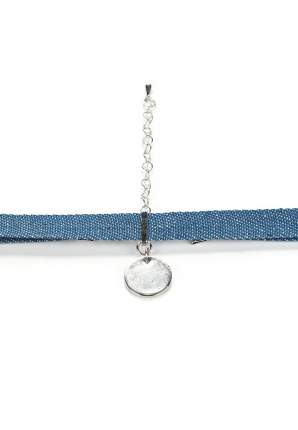 Колье-чокер Modis M181A00806V039ONE синий