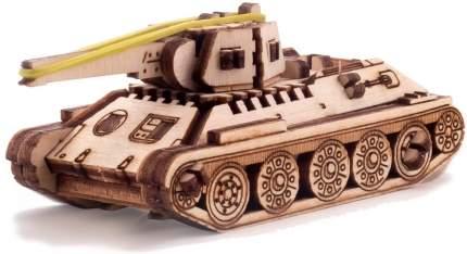 Деревянный конструктор с дополненной реальностью UNIWOOD UNIT Танк Т-34