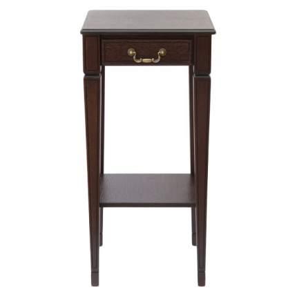 Консоль мебельная МЕБЕЛИК Васко В 46Н Темно-коричневый