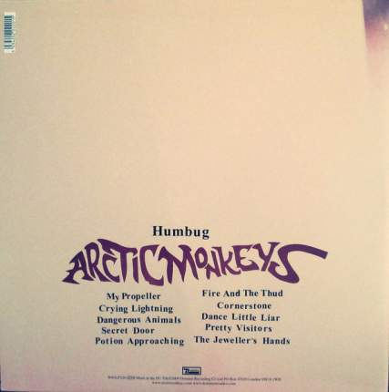 Виниловая пластинка Arctic Monkeys Humbug (LP)