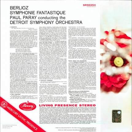 Виниловая пластинка Berlioz, Paul Paray, Detroit Symphony Symphonie Fantastique (LP)