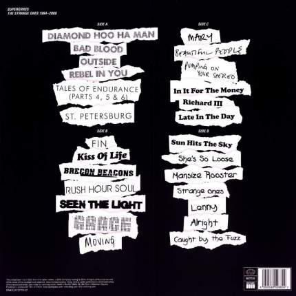 Виниловая пластинка Supergrass The Strange Ones 1994-2008 (2LP)